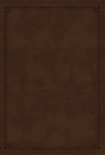 NKJV Study Bible, Leathersoft, Brown, Thumb Indexed, Comfort Print : The Complete Resource for Studying God's Word - Book
