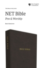 NET Bible, Pew and Worship, Hardcover, Black, Comfort Print : Holy Bible - Book