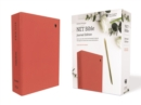 NET Bible, Journal Edition, Cloth over Board, Coral, Comfort Print : Holy Bible - Book