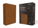 NET Bible, Journal Edition, Leathersoft, Brown, Comfort Print : Holy Bible - Book