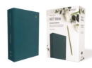 NET Bible, Journal Edition, Leathersoft, Teal, Comfort Print : Holy Bible - Book