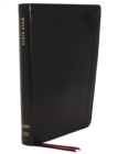 NET Bible, Thinline, Leathersoft, Black, Thumb Indexed, Comfort Print : Holy Bible - Book