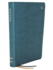 NET Bible, Thinline, Leathersoft, Teal, Thumb Indexed, Comfort Print : Holy Bible - Book
