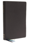 NET Bible, Thinline Large Print, Leathersoft, Black, Comfort Print : Holy Bible - Book