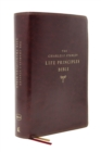 The NKJV, Charles F. Stanley Life Principles Bible, 2nd Edition, Leathersoft, Burgundy, Thumb Indexed, Comfort Print : Growing in Knowledge and Understanding of God Through His Word - Book