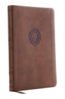 KJV, Thinline Bible Youth Edition, Leathersoft, Brown, Red Letter, Comfort Print : Holy Bible, King James Version - Book