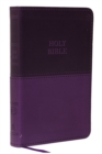 KJV, Value Thinline Bible, Compact, Leathersoft, Purple, Red Letter, Comfort Print : Holy Bible, King James Version - Book