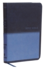 KJV, Value Thinline Bible, Compact, Leathersoft, Blue, Red Letter Edition, Comfort Print : Holy Bible, King James Version - Book