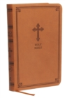 KJV, Value Thinline Bible, Compact, Leathersoft, Brown, Red Letter, Comfort Print : Holy Bible, King James Version - Book
