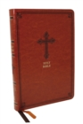 KJV, Thinline Bible, Leathersoft, Brown, Red Letter, Comfort Print : Holy Bible, King James Version - Book
