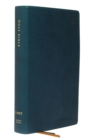 NET Bible, Single-Column Reference, Leathersoft, Teal, Comfort Print : Holy Bible - Book