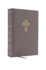NRSV, Catholic Bible, Journal Edition, Cloth over Board, Gray, Comfort Print : Holy Bible - Book