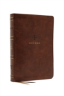 NRSV, Catholic Bible, Standard Large Print, Leathersoft, Brown, Comfort Print : Holy Bible - Book