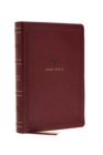 NRSV, Catholic Bible, Standard Large Print, Leathersoft, Red, Comfort Print : Holy Bible - Book