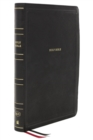 KJV, Thinline Bible, Giant Print, Leathersoft, Black, Red Letter Edition, Comfort Print : Holy Bible, King James Version - Book