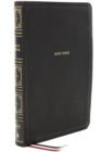 NKJV, Thinline Bible, Giant Print, Leathersoft, Black, Thumb Indexed, Red Letter Edition, Comfort Print : Holy Bible, New King James Version - Book