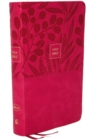 NKJV, End-of-Verse Reference Bible, Compact, Leathersoft, Pink, Red Letter, Comfort Print : Holy Bible, New King James Version - Book