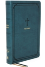 NKJV, End-of-Verse Reference Bible, Compact, Leathersoft, Teal, Red Letter, Comfort Print : Holy Bible, New King James Version - Book