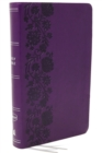 NKJV, End-of-Verse Reference Bible, Personal Size Large Print, Leathersoft, Purple, Red Letter, Comfort Print : Holy Bible, New King James Version - Book