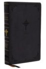 NABRE, New American Bible, Revised Edition, Catholic Bible, Large Print Edition, Leathersoft, Black, Thumb Indexed, Comfort Print : Holy Bible - Book