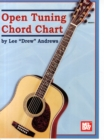 OPEN TUNING CHORD CHART - Book