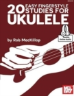20 EASY FINGERSTYLE STUDIES FOR UKULELE - Book