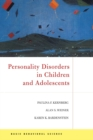 Personality Disorders In Children And Adolescents - eBook