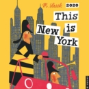 This is New York 2020 Square Wall Calendar - Book