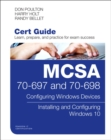 MCSA 70697 CERT GUIDE CONFIGURING WINDOW - Book