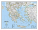 Greece Classic, Tubed : Wall Maps Countries & Regions - Book