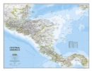 Central America Classic, Tubed : Wall Maps Countries & Regions - Book