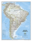 South America Classic, Enlarged &, Laminated : Wall Maps Continents - Book