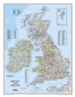 Britain And Ireland Executive Laminated Map : Wall Maps Countries & Regions - Book