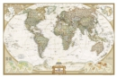 World Executive, Laminated : Wall Maps World - Book