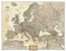 Europe Executive, Enlarged &, Laminated : Wall Maps Continents - Book