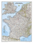 France, Belgium, And The Netherlands Classic, Laminated : Wall Maps Countries & Regions - Book