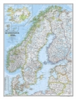 Scandinavia Classic, Laminated : Wall Maps Countries & Regions - Book