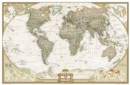 World Executive, Enlarged &, Tubed : Wall Maps World - Book