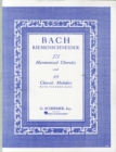 J.S. Bach : 371 Harmonized Chorales And 69 Chorale Melodies With Figured Bass - Book