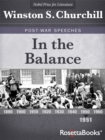 In the Balance - eBook