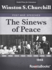 The Sinews of Peace - eBook