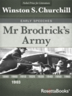 Mr Brodrick's Army - eBook