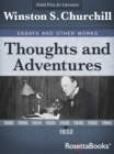 Thoughts and Adventures, 1932 - eBook