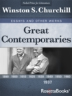 Great Contemporaries, 1937 - eBook