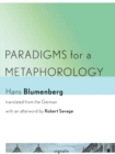 Paradigms for a Metaphorology - Book