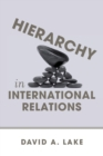 Hierarchy in International Relations - Book