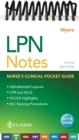 LPN Notes : Nurse's Clinical Pocket Guide - Book