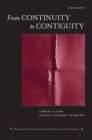 From Continuity to Contiguity : Toward a New Jewish Literary Thinking - eBook