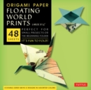 Origami Paper : Floating World Ukiyo-E Prints (Large) - Book