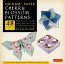 Origami Paper Cherry Blossom Patterns (Large) : It's Fun to Fold! - Book